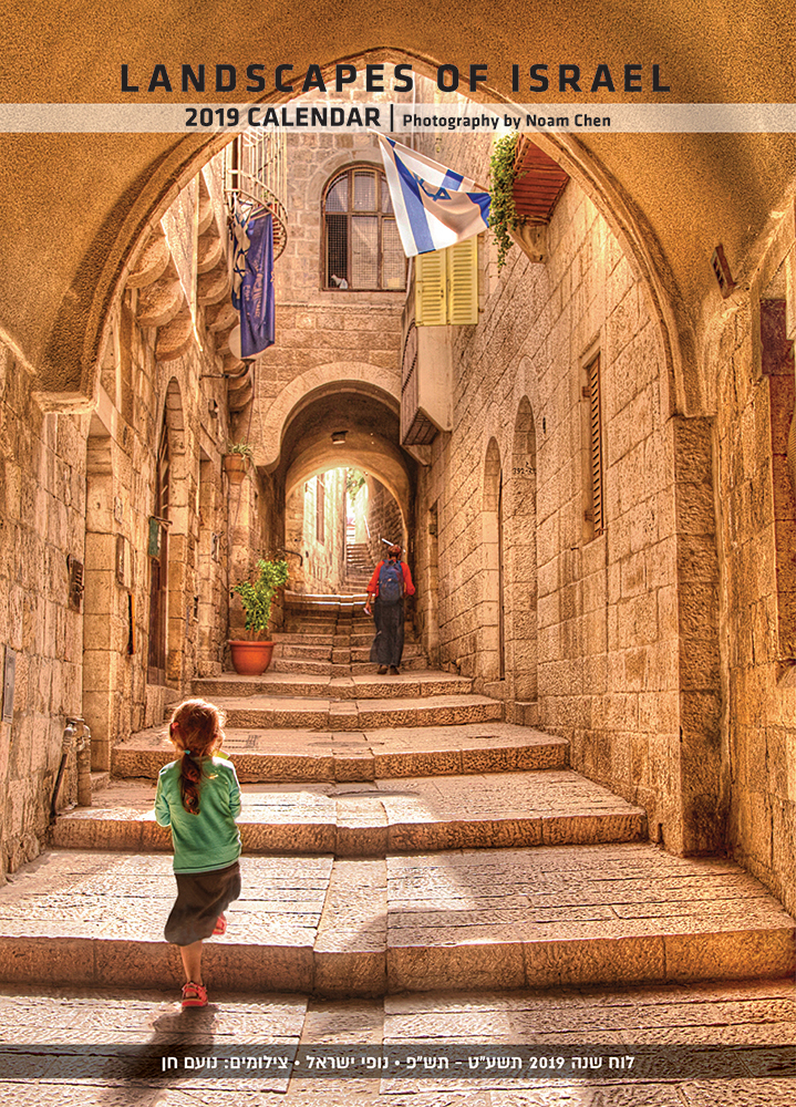 2 Landscapes Of Israel 2019 Calendar Noam Chen